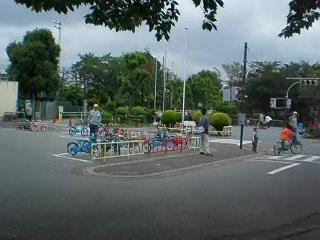 子ども交通コーナー
