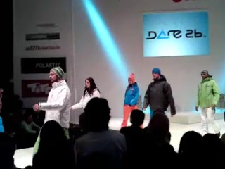 Fashion Show at ispo 2010 3