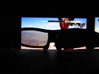 パナソニックの3Dメガネの動作(240フレーム)