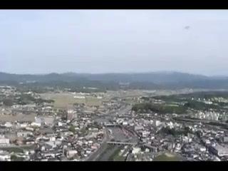 【こちら航空部】川渡り神幸祭:福岡・田川