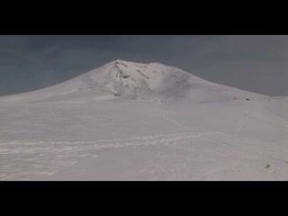 絶景!白い地獄 北海道大雪山地獄谷