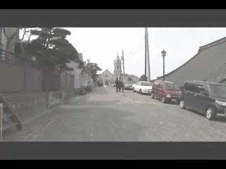 函館元町カトリック教会の鐘の音