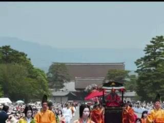 京都三大祭『葵祭』京都・御所にて ニコンD3s