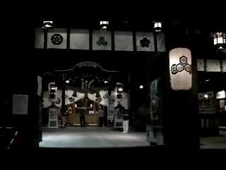 博多山笠飾り山公開