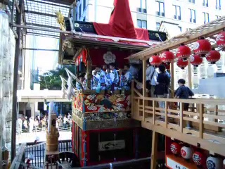 2011年7月15日祇園祭長刀鉾