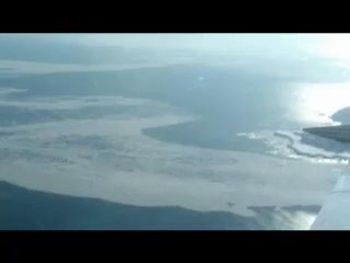 【こちら航空部】流氷:接岸、今年は早め--北海道・知床半島