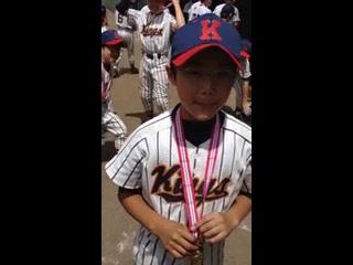 くりくり少年野球 品川代表決定 主将コメント