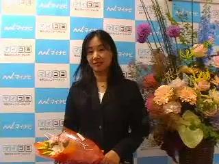 鹿野圭生女流初段インタビュー