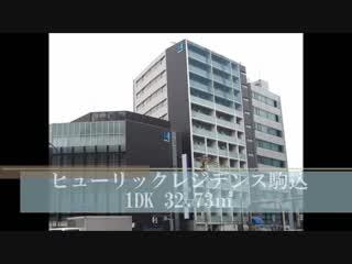 賃貸マンション ヒューリックレジデンス駒込 1DK 32.73㎡ 室内動画