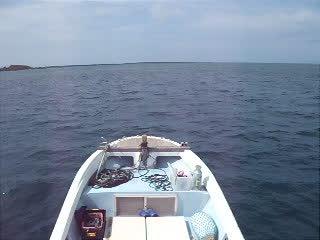 クロスホール海域