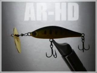 激流 モンスターイワナ AR-HDでHIT