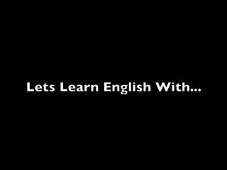 English Study - American Slang -