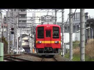 東武亀戸線8000系リバイバルカラー
