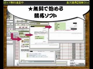 楽天競馬【簡単クリックで的中】JRA-VAN競馬ソフト