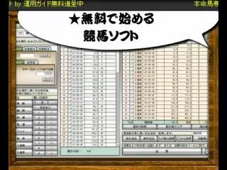ヤフー競馬【競馬予想が簡単】JRA-VAN対応競馬ソフト
