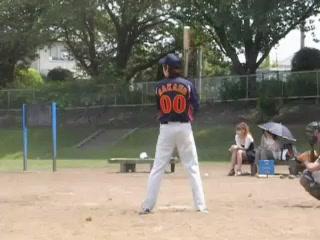 さかうえ 左二塁打