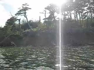 ウシュアイヤ カヌー体験