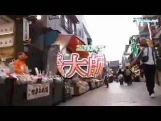 川崎大師参道 2010年大晦日の風景