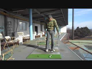 ゴルフ PWのスイング2017.1.2
