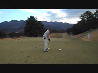 初打ちゴルフの朝一のドライバーのまさかのお笑いドローボール2017.1.3