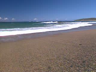 海の浜辺 - 撮影:神原卓
