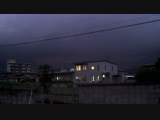 落雷の瞬間