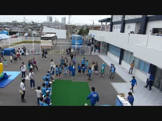 甲田さん試合前