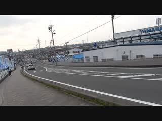 甲田さん ヤマハスターデイアムへの道1