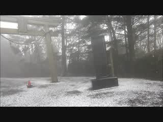 熊野古道と初雪の玉置神社(WEB RADI13)