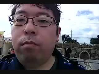 加東市秋のフェスティバルの風景その5(屋台とネットビジネスについて語る)